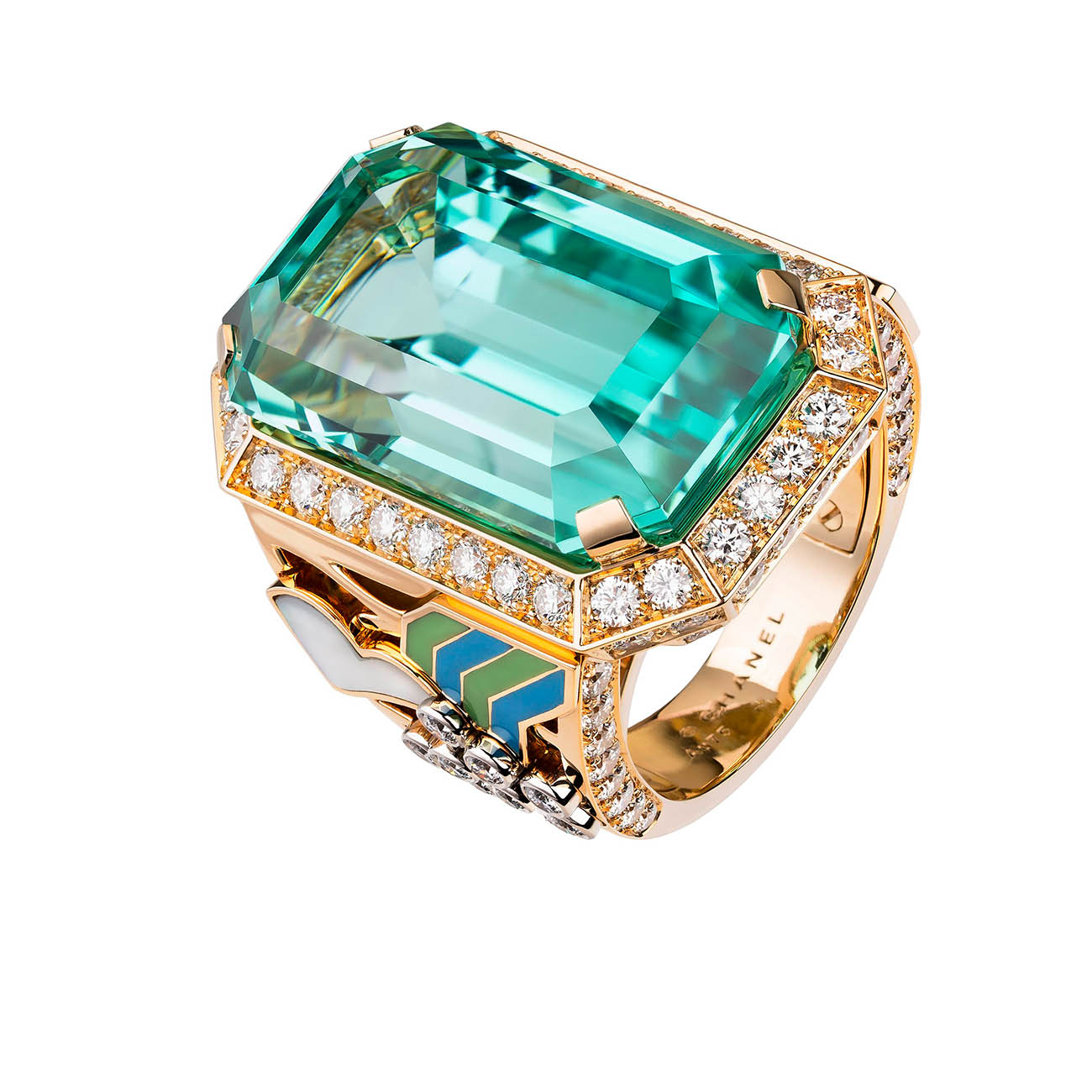 CHANEL COROMANDEL Bague Vibration Minerale