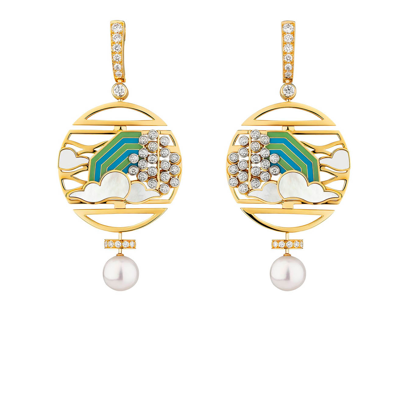 CHANEL COROMANDEL Vibration Minérale Earrings