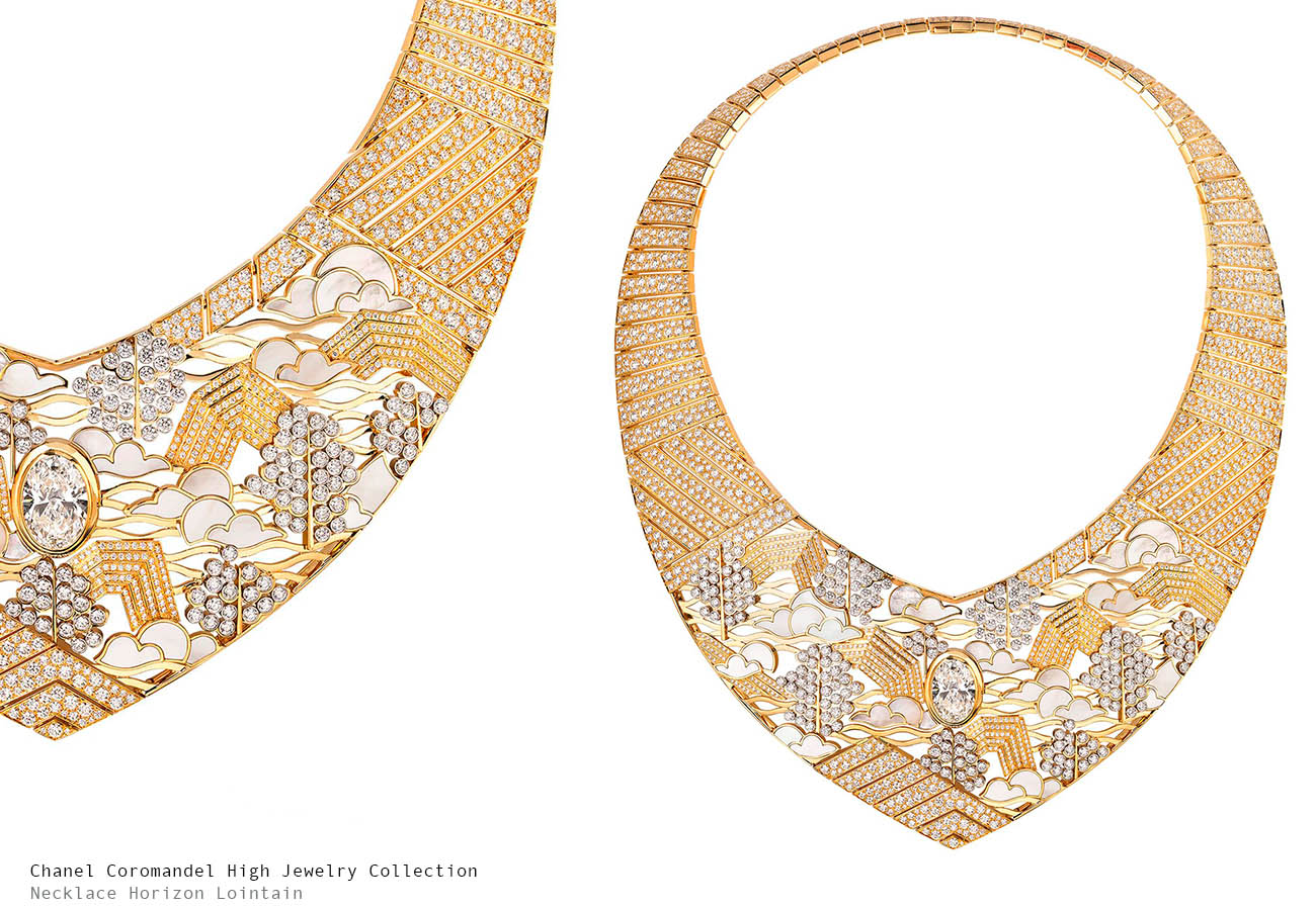 Chanel Coromandel Horizon Lointain Necklace