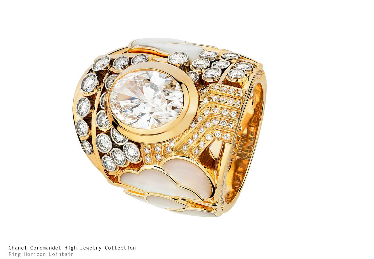 Chanel Coromandel Horizon Lointain Ring