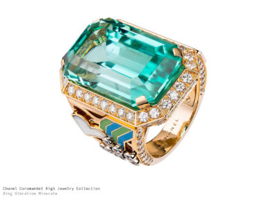 Chanel Coromandel Ring Vibration Minerale