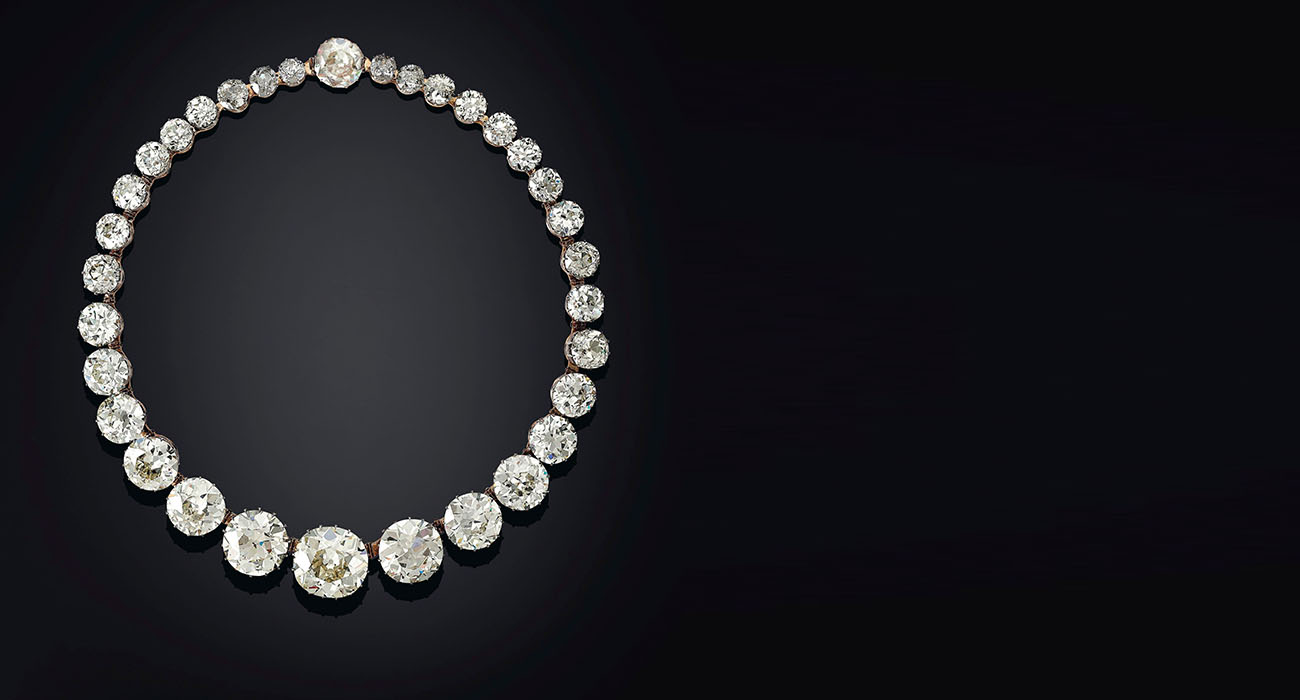 Sotheby's Golconda Diamond Rivière Necklace 2