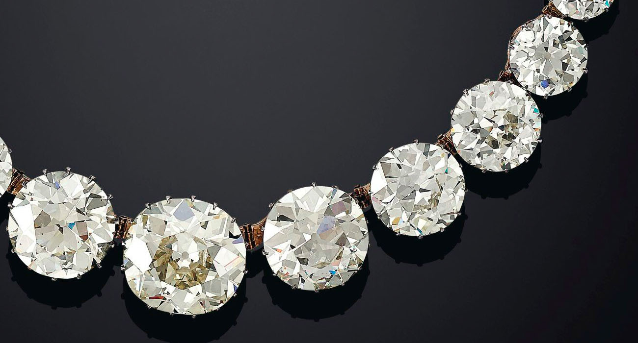 Sotheby's Golconda Diamond Rivière Necklace
