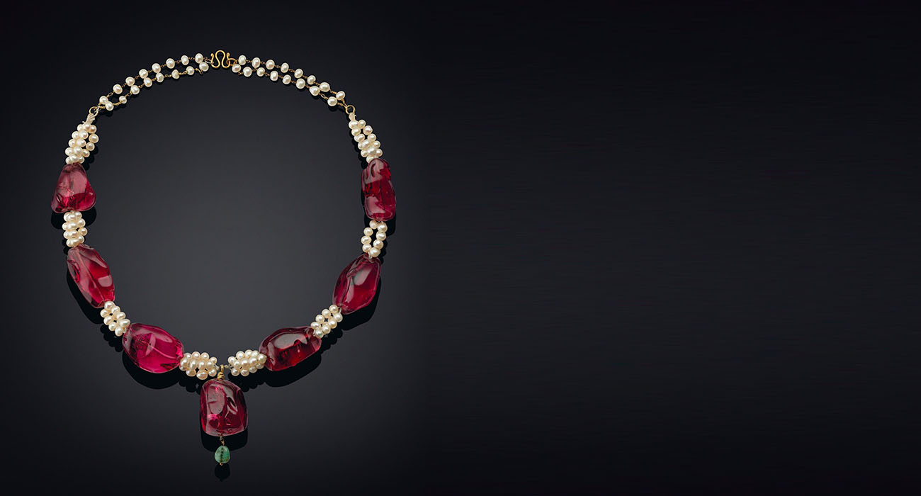 Sotheby's Imperial Spinel Necklace