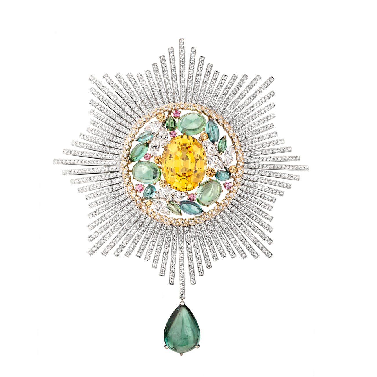 Chanel High Jewelry Collection LE PARIS RUSSE DE CHANEL Blé Maria brooch