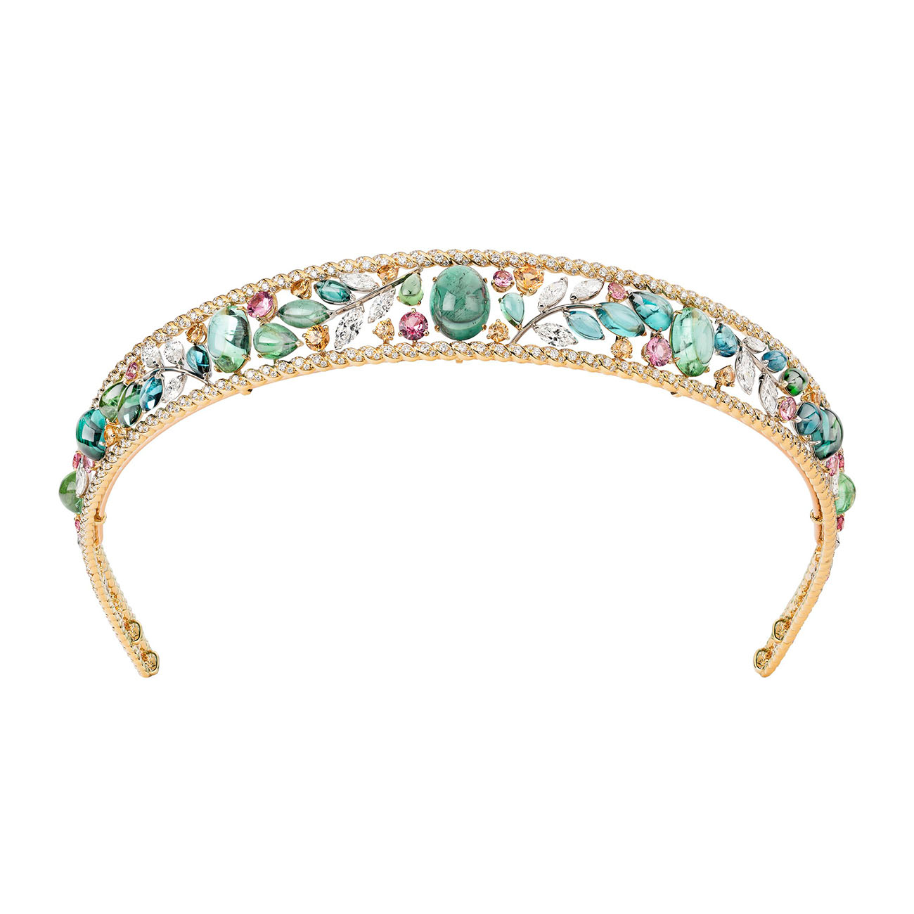 Chanel High Jewelry Collection LE PARIS RUSSE DE CHANEL Blé Maria tiara