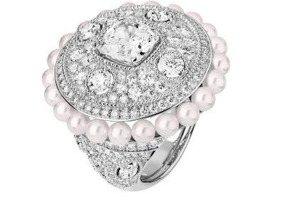 Chanel High Jewelry Collection LE PARIS RUSSE DE CHANEL Broderie Byzantine ring