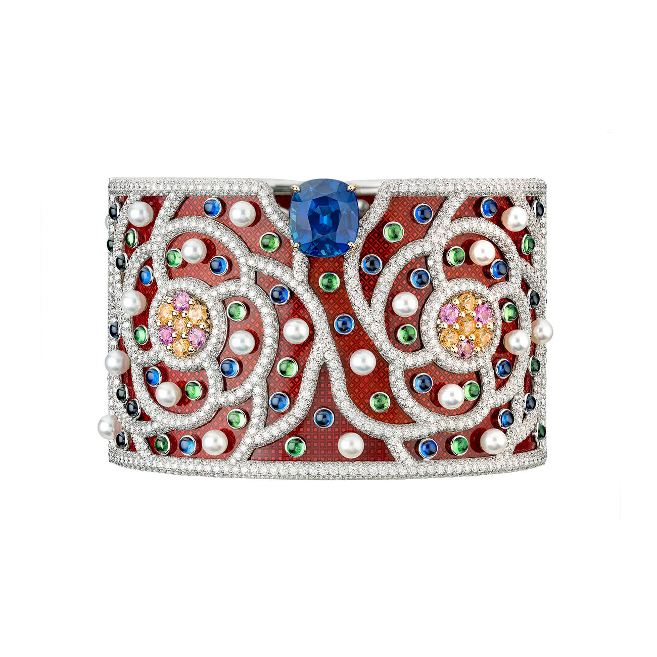 Chanel High Jewelry Collection LE PARIS RUSSE DE CHANEL Folklore Cuff