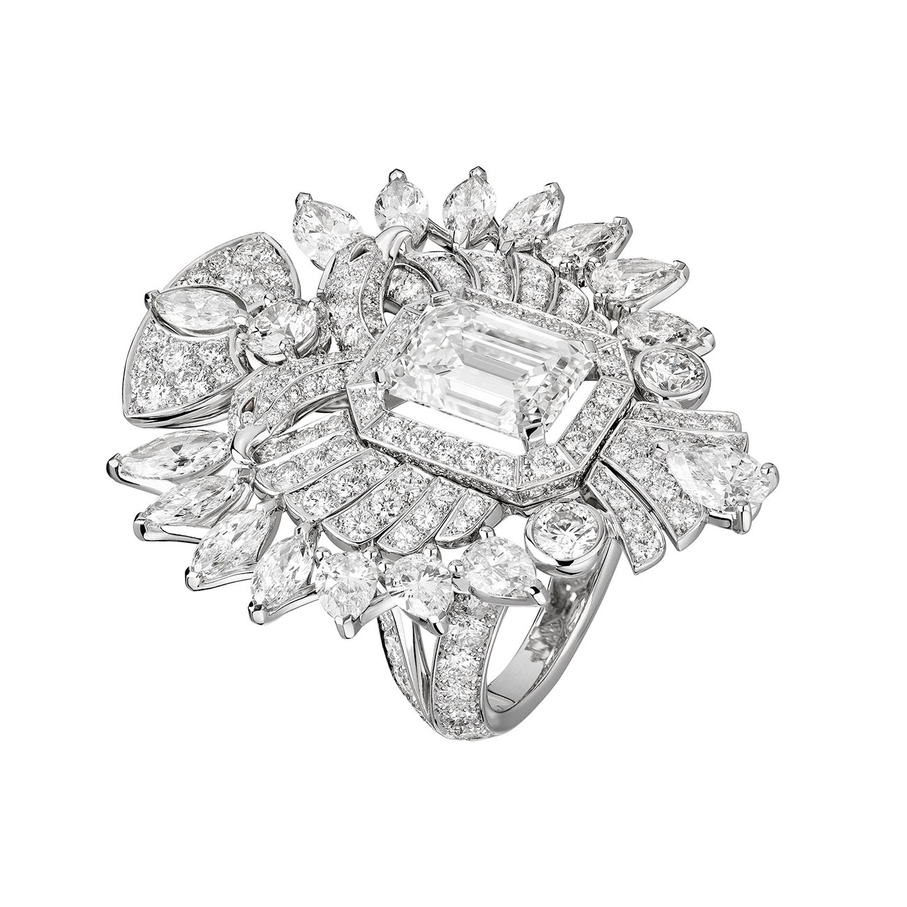 Chanel High Jewelry Collection Aigle Cambon ring